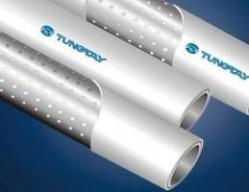 山西孔网钢带耐热聚乙烯复合管